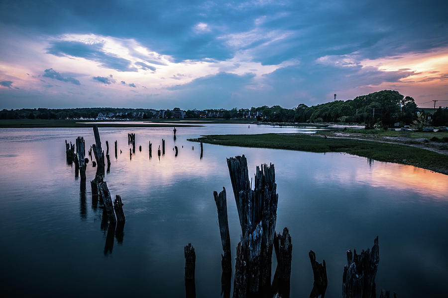 Driftway Sunset - Scituate by Steven David Roberts