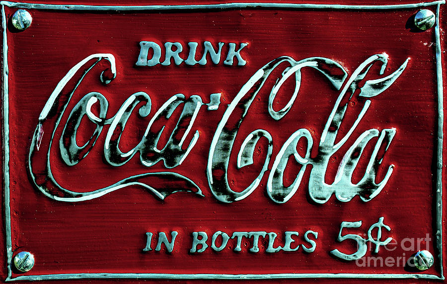 Drink Coca-Cola in Bottles by Miles Whittingham