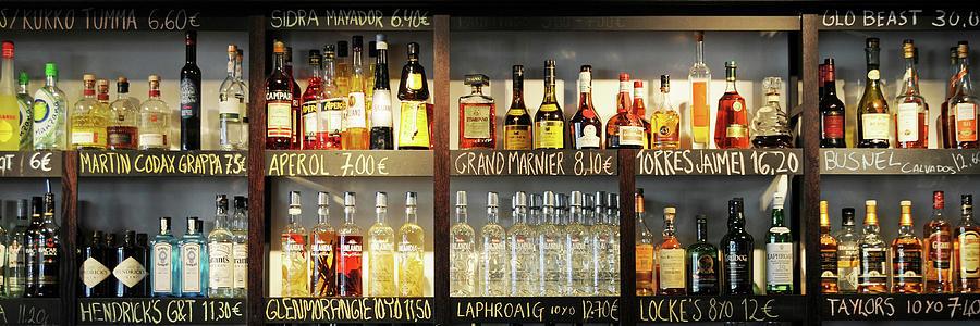 Drinks Photograph - Drink Lovers Bar by Stefan Boehme
