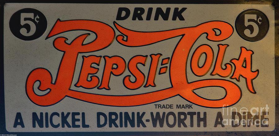 Drink Pepsi-Cola by Mitch Shindelbower
