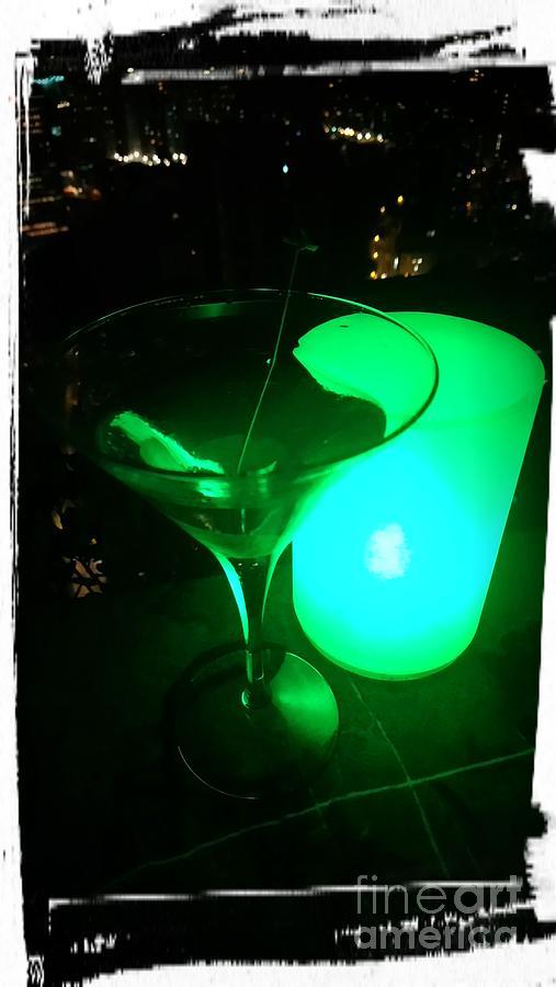 James Bonds Original vesper Martini Photograph