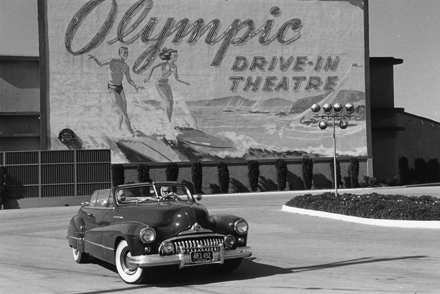 Drive-in Photograph by Kurt Hutton