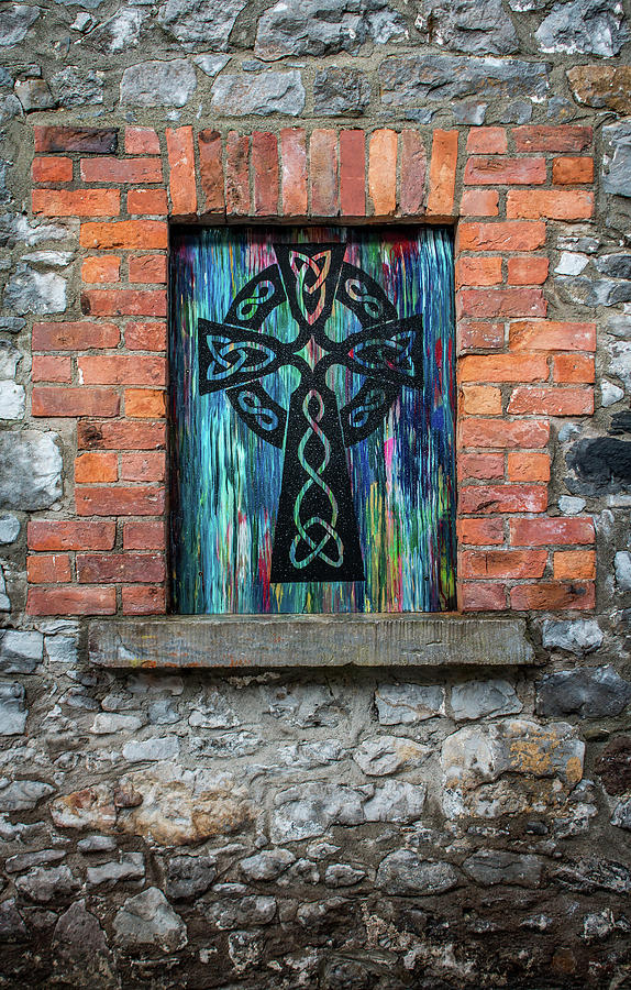 Drogheda Celtic Cross by Susie Weaver