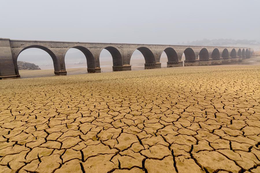 Desert Photograph - Drought Landscapes by Marcos Marcos Adanez