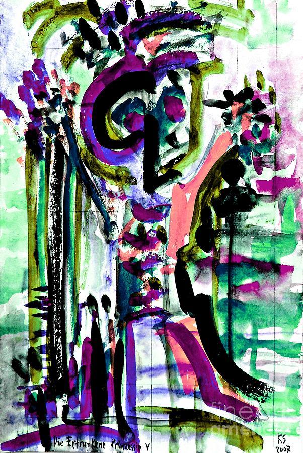 Drowned Princess-2 Painting