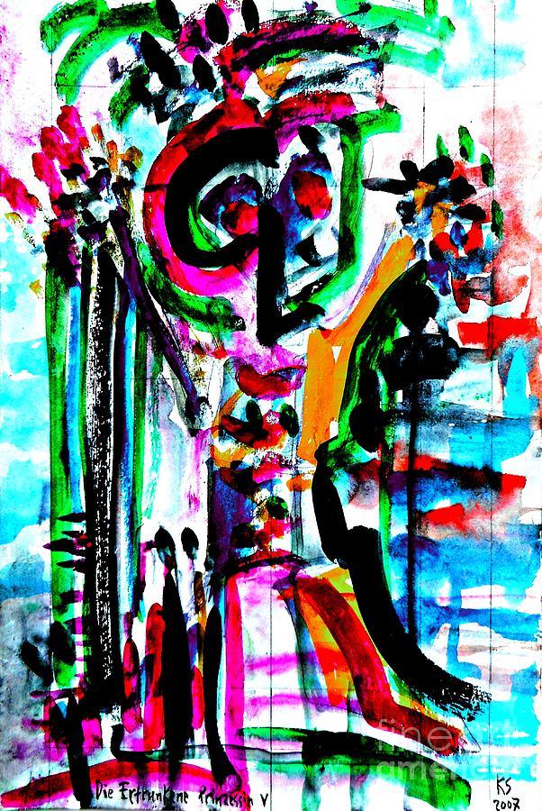 Drowned Princess-3 Painting