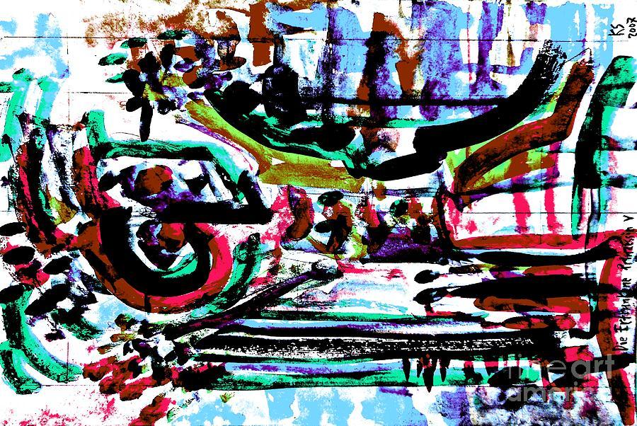 Drowned Princess-4 Painting