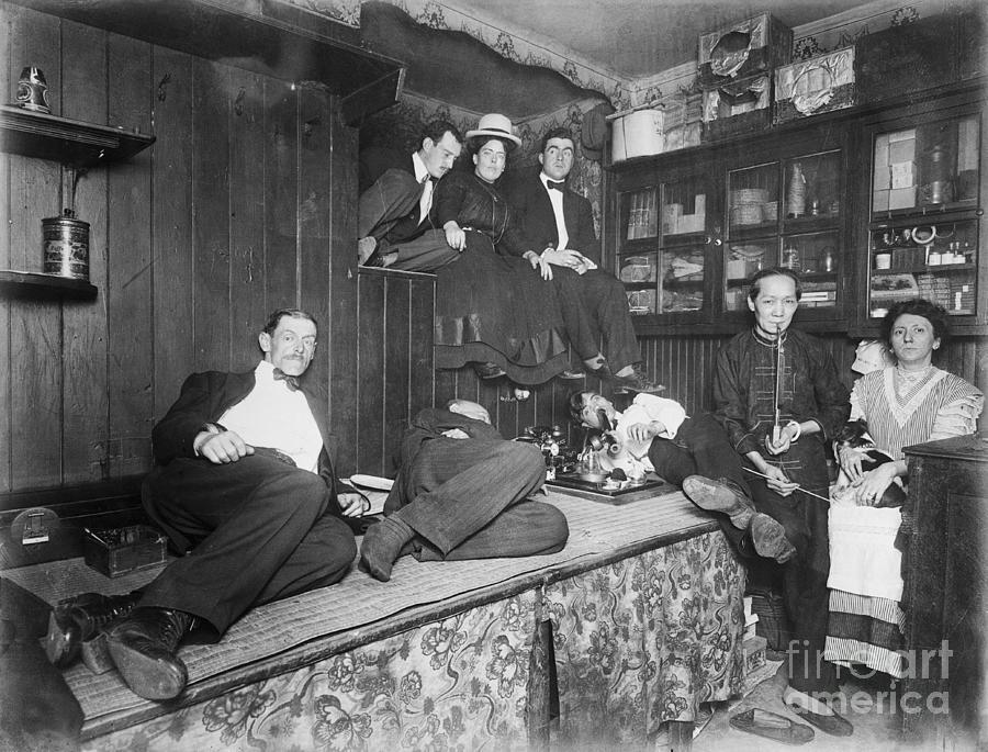 Drug Addicts In Chinatown Opium Den Photograph by Bettmann