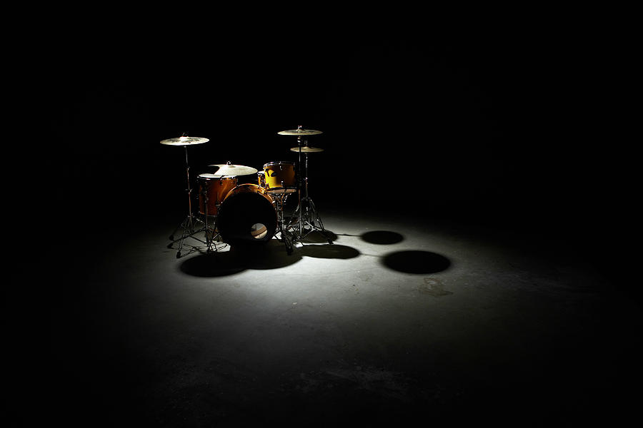 Drum Kit, Elevated View Photograph by Thomas Northcut