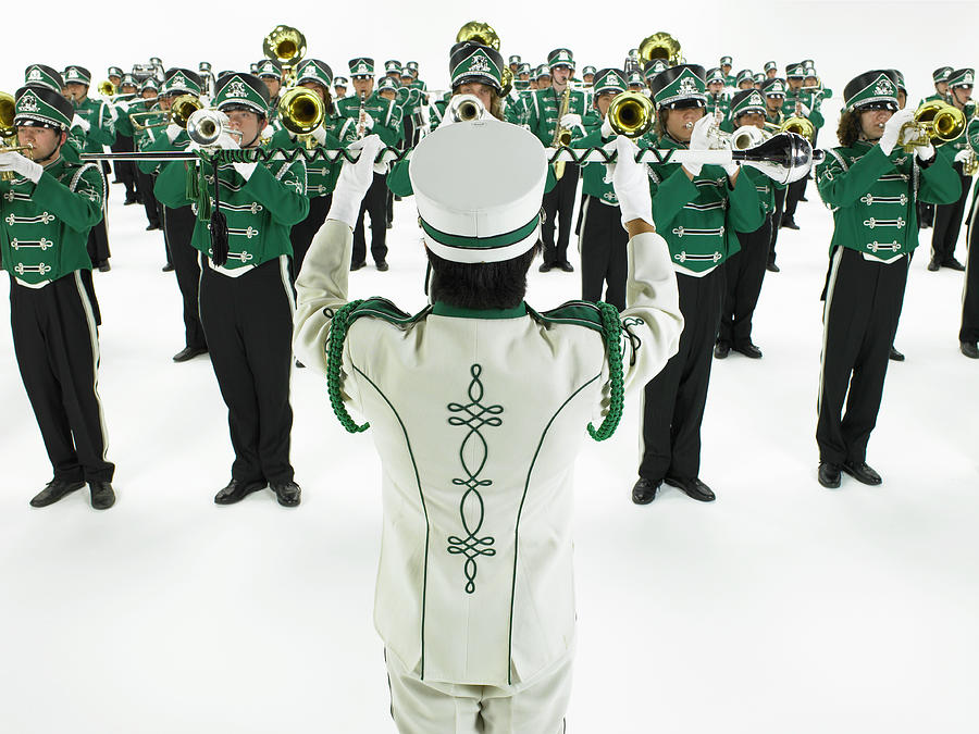 Drum Major Leading Teenage 14-18 Photograph by Ryan Mcvay