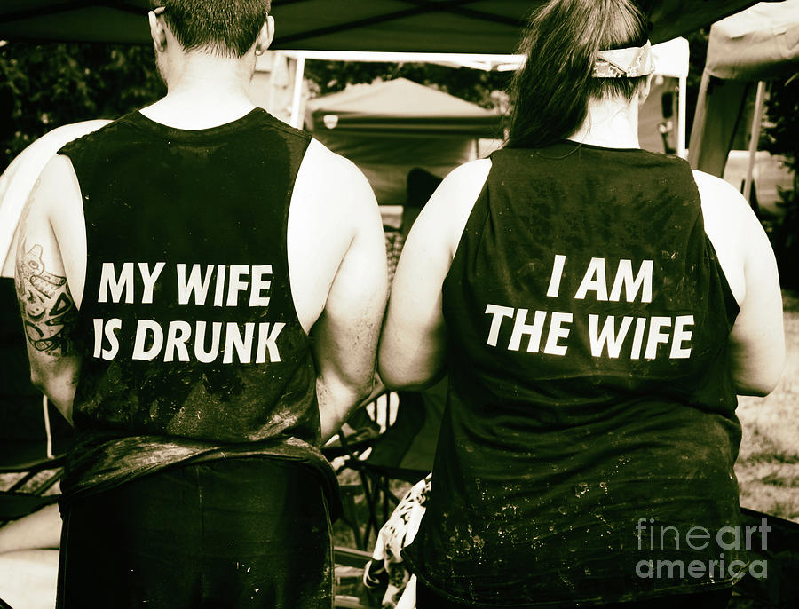 Marriage Photograph - Drunk Marriage  by Steven Digman