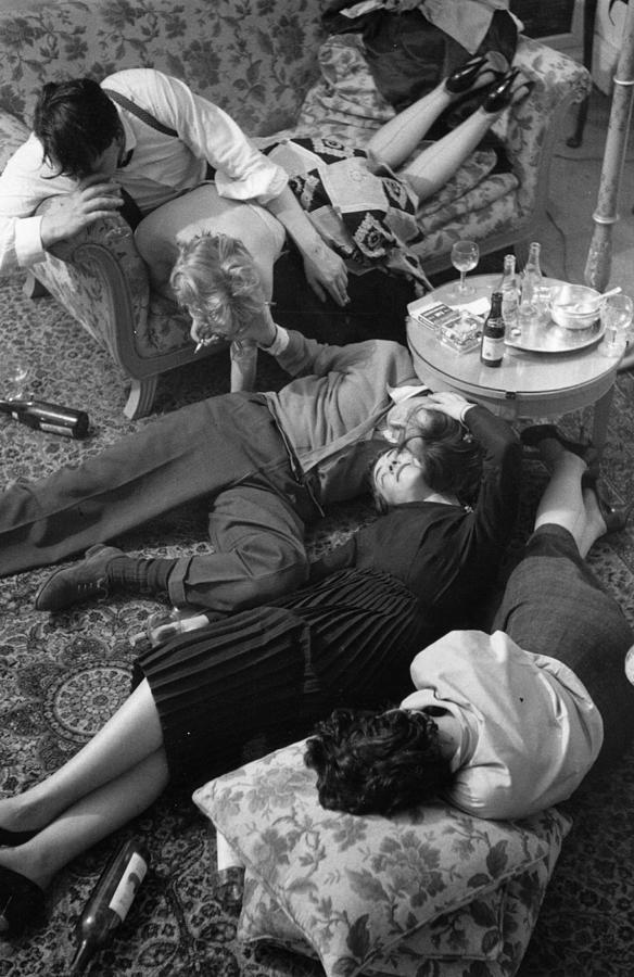 Drunken Debauchery Photograph by Kurt Hutton