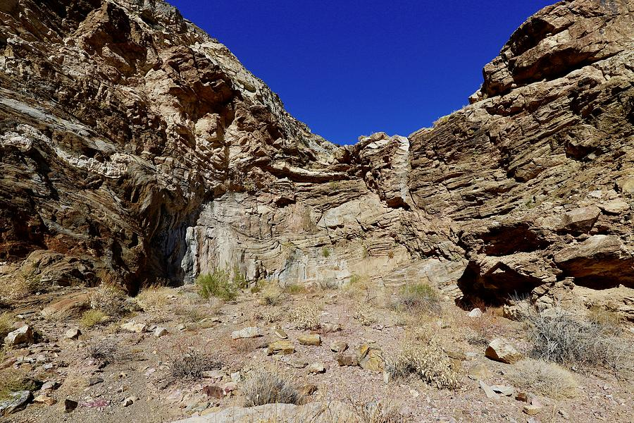 Death Valley National Park Photograph - Dry Fall by Maria Jansson
