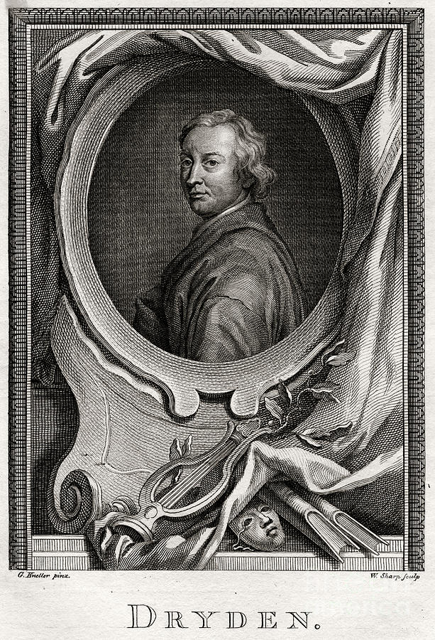 Dryden, 1775. Artist W Sharp Drawing by Print Collector