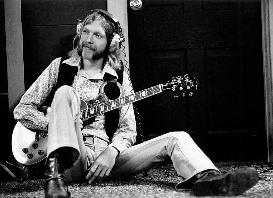 Duane Allman At Muscle Shoals Photograph by Michael Ochs Archives