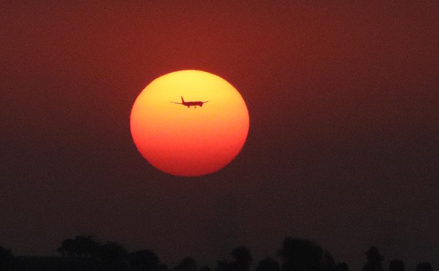 Dubai Sunset by Pat Moore