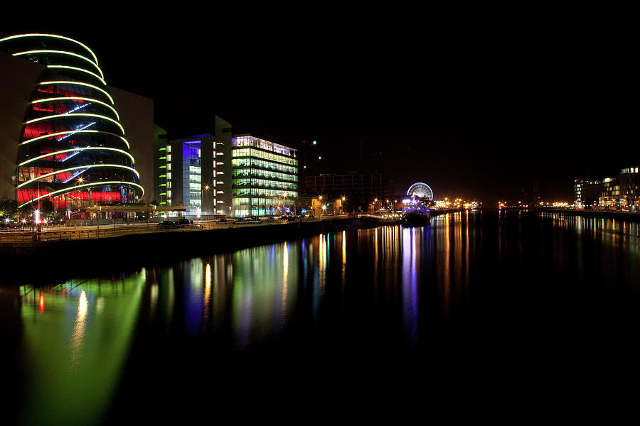 Dublin City Along Quays Photograph by Image By Daniel King