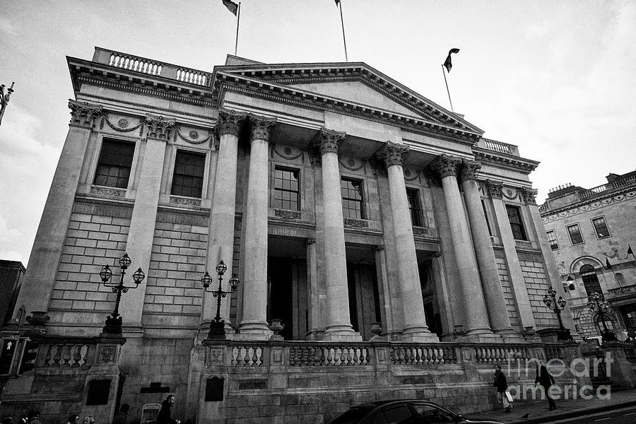 Dublin Photograph - Dublin City Hall Originally The Royal Exchange Dublin Republic Of Ireland Europe by Joe Fox