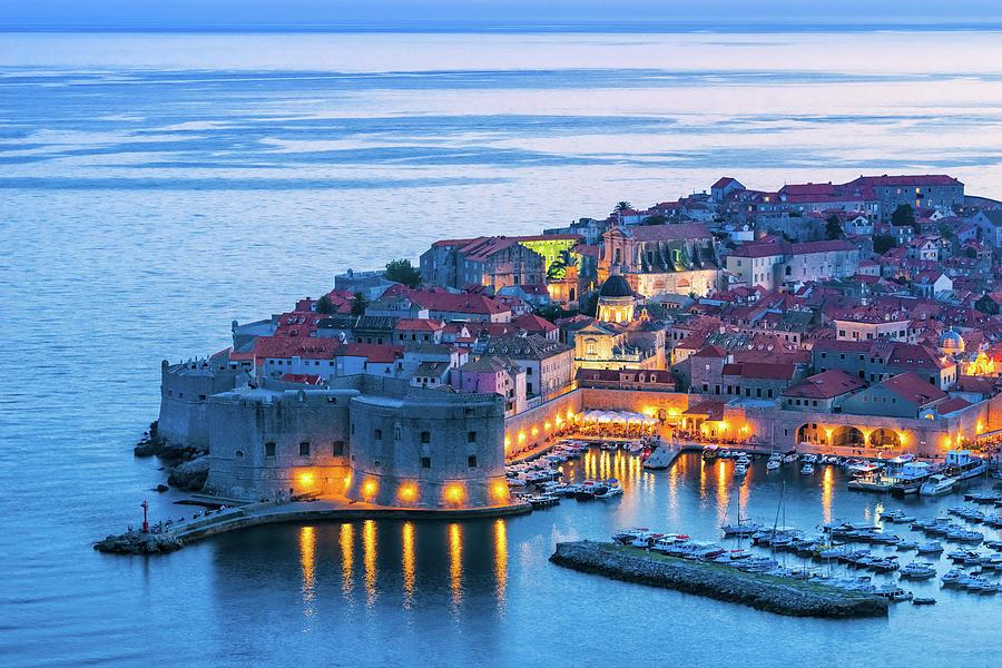 Adriatic Photograph - Dubrovnik 07 by Tom Uhlenberg