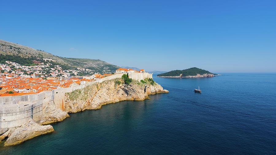 Adriatic Photograph - Dubrovnik 09 by Tom Uhlenberg