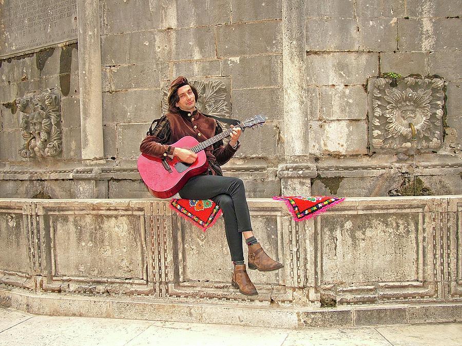 Dubrovnik Street Musician by Joseph Hendrix