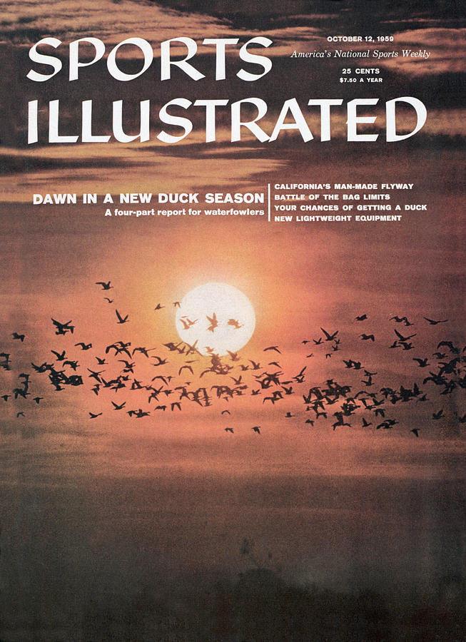 Duck Hunting Sports Illustrated Cover Photograph by Sports Illustrated