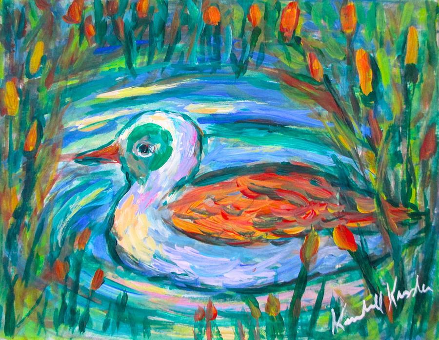 Duck Swirl by Kendall Kessler