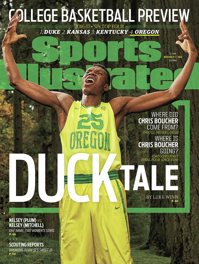 Duck Tale 2016-17 College Basketball Preview Issue Sports Illustrated Cover Photograph by Sports Illustrated