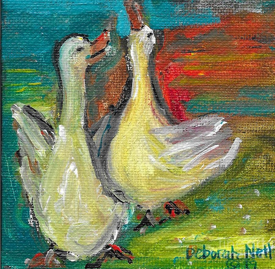 Ducks Just Want To Have Fun by Deborah Nell