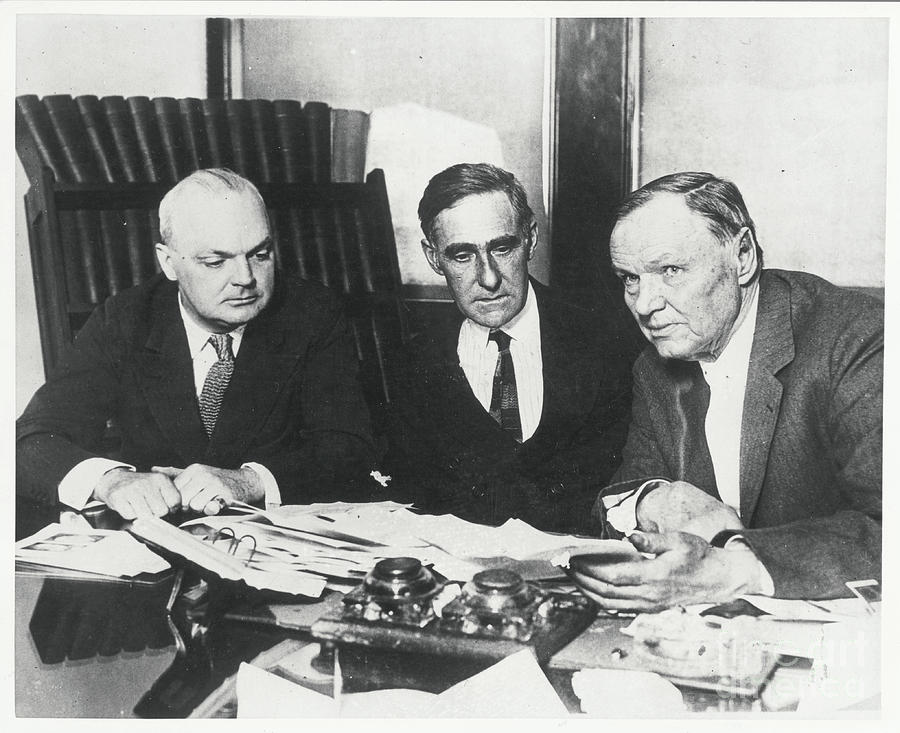 Dudley Field Malone With Clarence Darrow Photograph by Bettmann