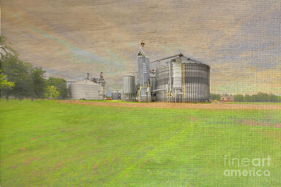 Hdr Photograph - Dudley Missouri  by Larry Braun