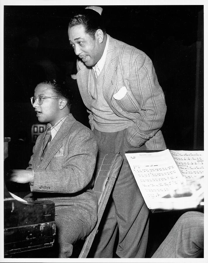Duke Ellington & Billy Strayhorn Photograph by Michael Ochs Archives