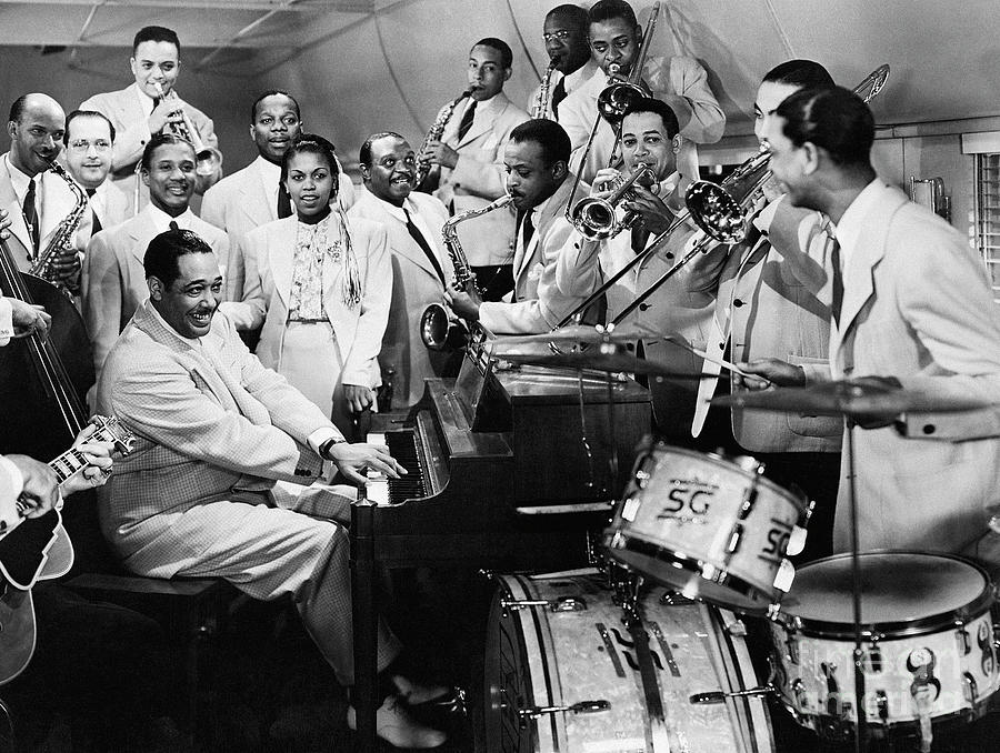 Duke Ellington And Orchestra Photograph by Bettmann
