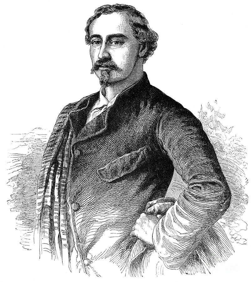 Duke Ernest Of Saxo Coburg Gotha, 1900 Drawing by Print Collector