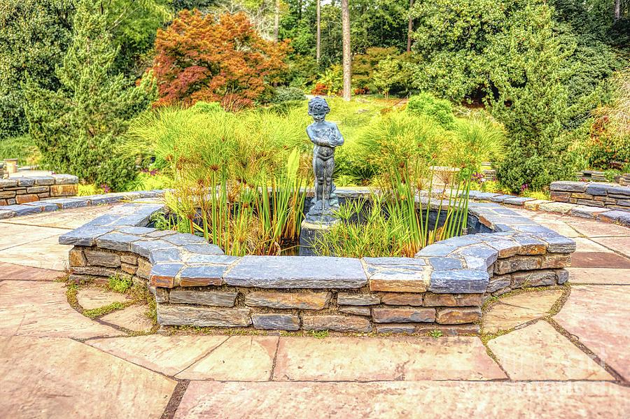 Duke Photograph - Duke Fountain by James Foshee