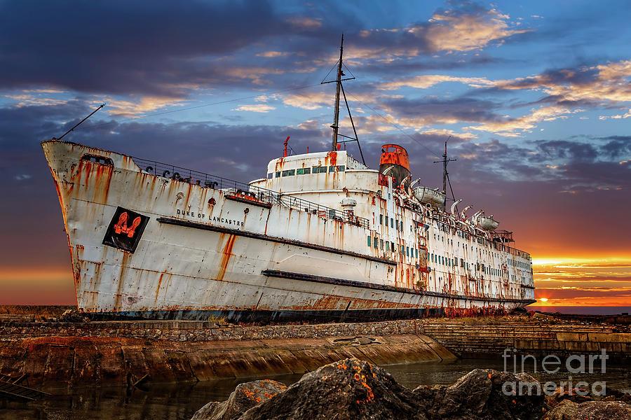 Duke of Lancaster Ship by Adrian Evans