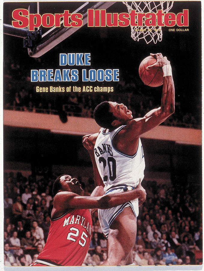 Duke University Gene Banks, 1978 Acc Tournament Sports Illustrated Cover Photograph by Sports Illustrated