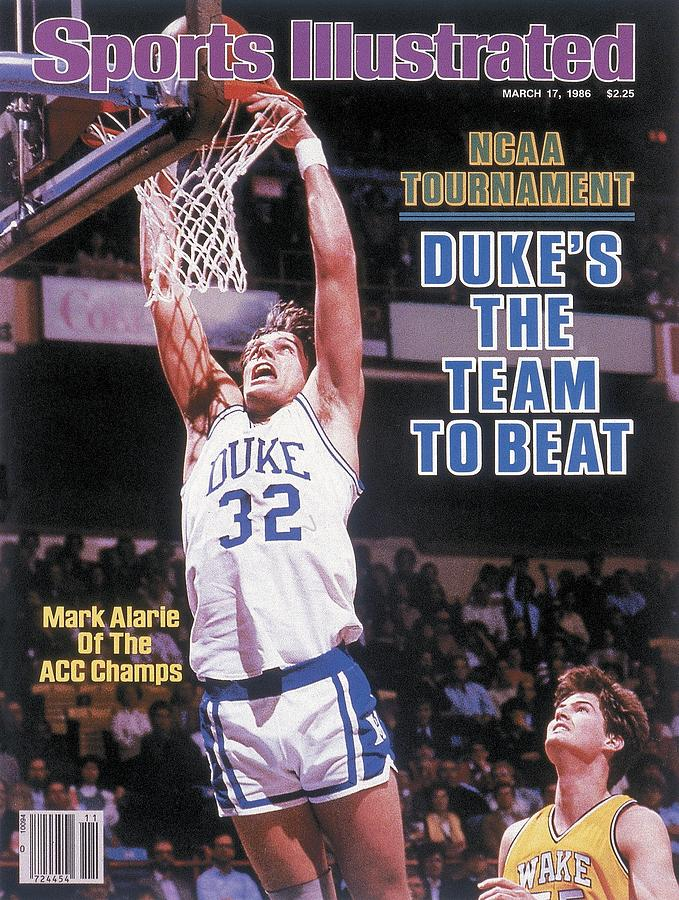 Duke University Mark Alarie, 1986 Acc Tournament Sports Illustrated Cover Photograph by Sports Illustrated