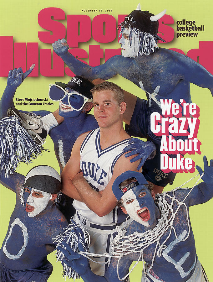 Duke University Steve Wojciechowski, 1997-98 College Sports Illustrated Cover  by Sports Illustrated