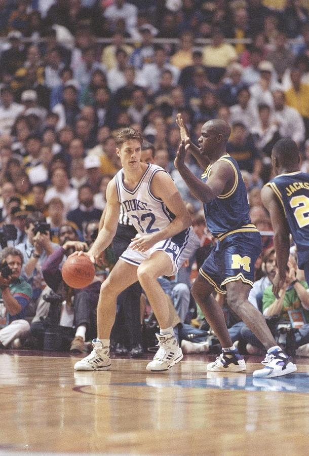Duke V Michigan Photograph by Jonathan Daniel