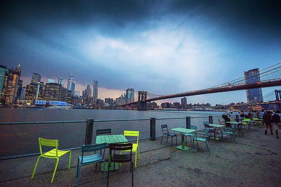 New York Photograph - Dumbo, Brooklyn, Ny by Surej Kalathil