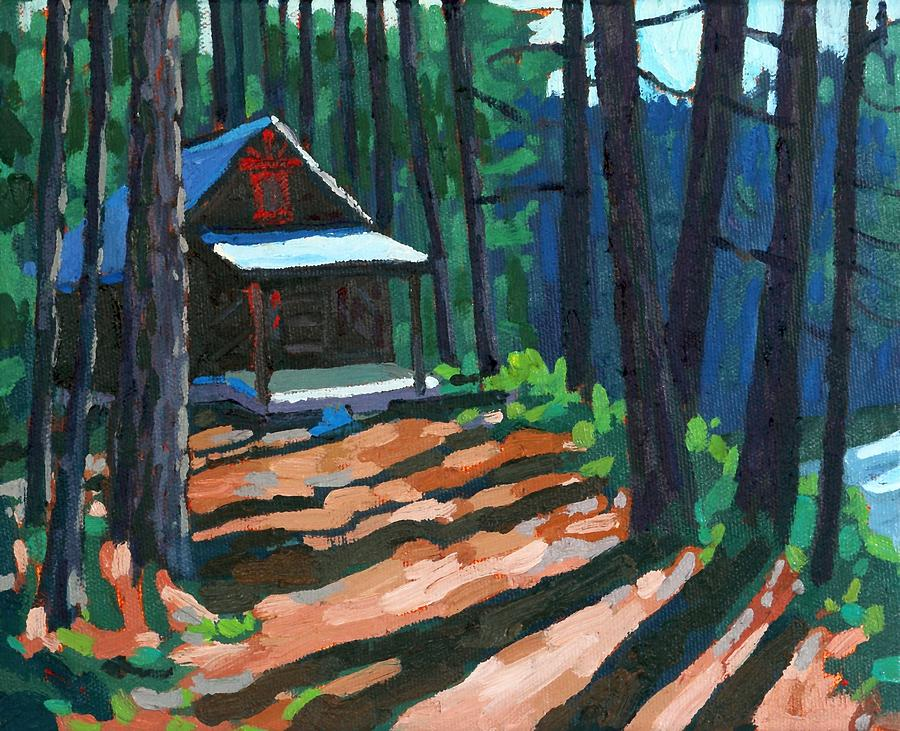 Dumoine Cabin at Grand Bend by Phil Chadwick