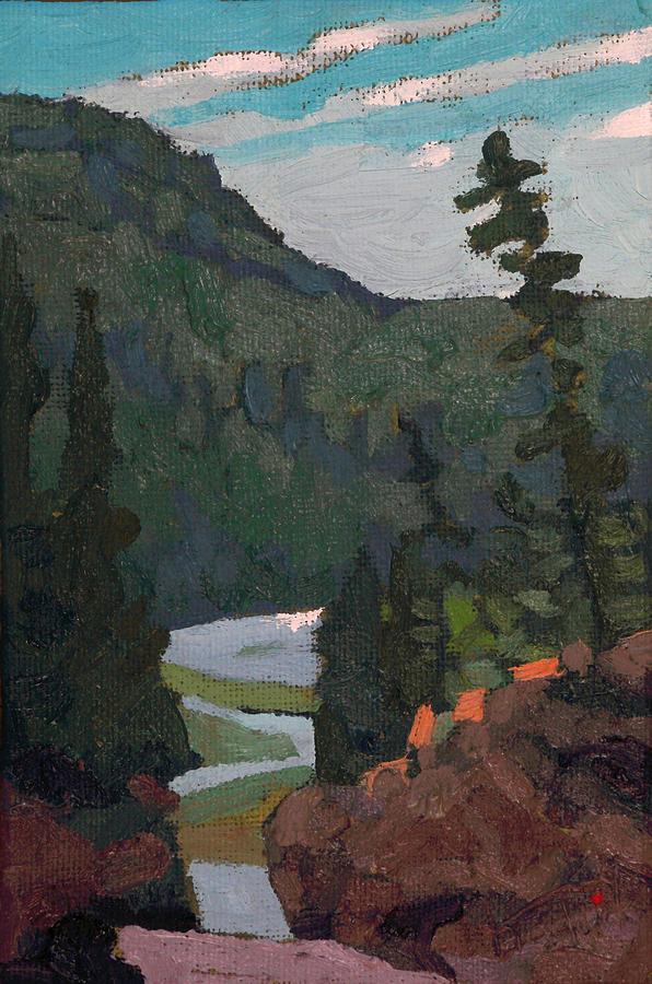Dumoine Grande Chute Canyon by Phil Chadwick