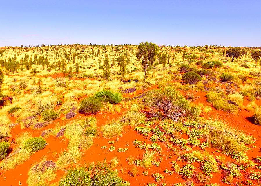 Dune Landscape to Uluru #2 by Lexa Harpell