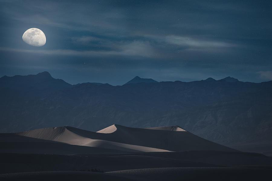 Dunes of the Death Valley by Dalibor Hanzal