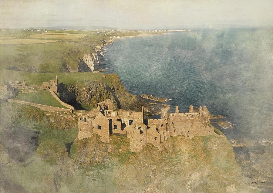 Dunluce Castle by Norma Slack