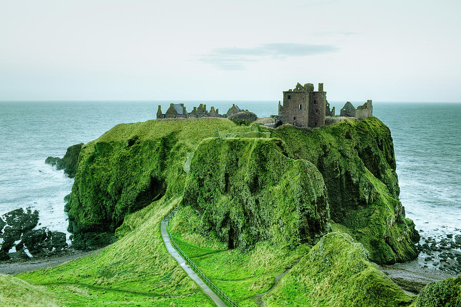 Dunnottar Castle, Close To Aberdeen Photograph by Silvia Otte