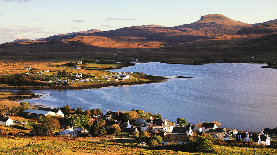 Dunvegan Evening by Nicholas Blackwell