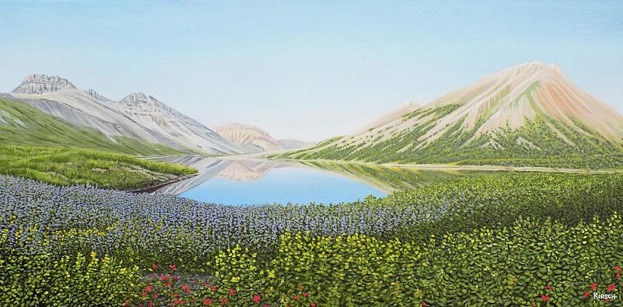 Yukon Spring by Kenneth M Kirsch