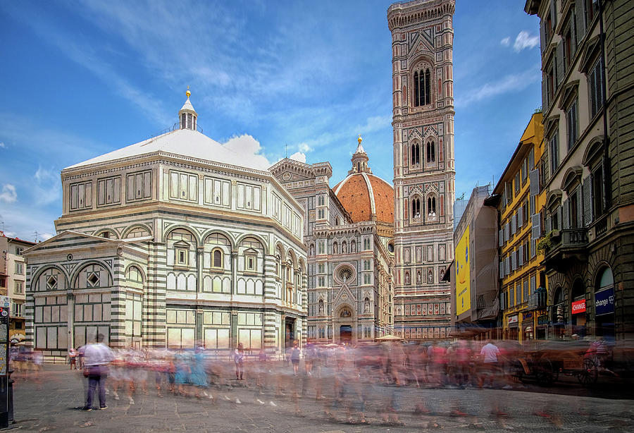 Duomo Baptistery  by Matthew Pace